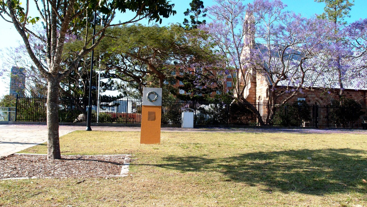Image of memorial mock-up at Kangaroo Point.
