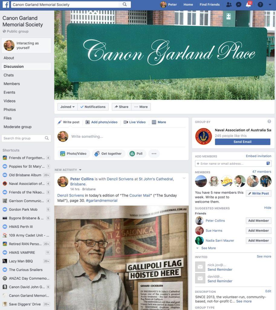 Contact us – Canon Garland Memorial Society